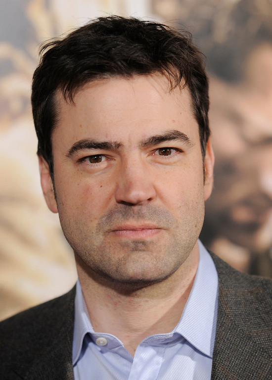 "Description of . Ron Livingston arrives at the premiere of the ten-part HBO miniseries ""The Pacific\"" in Los Angeles, Wednesday, Feb. 24, 2010. (AP Photo/Chris Pizzello)"