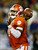 Tajh Boyd #10 of the Clemson Tigers passes against the LSU Tigers during the 2012 Chick-fil-A Bowl at Georgia Dome on December 31, 2012 in Atlanta, Georgia.  (Photo by Kevin C. Cox/Getty Images)