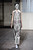 A model wears a creation by fashion designer Martin Margiela as part of his Spring/Summer 2013 Haute Couture fashion collection, in Paris, Wednesday, Jan. 23, 2013. (AP Photo/Zacharie Scheurer)