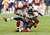 Earl Bennett #80 of the Chicago Bears is tackled by Kerry Rhodes #25 and James Sanders #39 of the Arizona Cardinals at University of Phoenix Stadium on December 23, 2012 in Glendale, Arizona. Bears won 28-13. (Photo by Norm Hall/Getty Images)