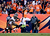 Denver Broncos wide receiver Demaryius Thomas #88 scores a touchdown catching a pass from Denver Broncos quarterback Peyton Manning #18 who broke his own record.  The Denver Broncos vs The Tampa Bay Buccaneers at Sports Authority Field Sunday December 2, 2012. AAron  Ontiveroz, The Denver Post