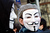 Protestor with a mask outside Greece's parliament during a protest on February 20, 2013 in Athens, Greece. Unions have launched  general strike against austerity measures in Greece, amid predictions unemployment in the crisis-hit country will reach 30 percent this year. (Photo by Milos Bicanski/Getty Images)