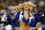 A Dallas Cowboys Cheerleader performs as the Dallas Cowboys take on the Pittsburgh Steelers at Cowboys Stadium on December 16, 2012 in Arlington, Texas. The Dallas Cowboys beat the Pittsburgh Steelers 27-24. (Photo by Tom Pennington/Getty Images)
