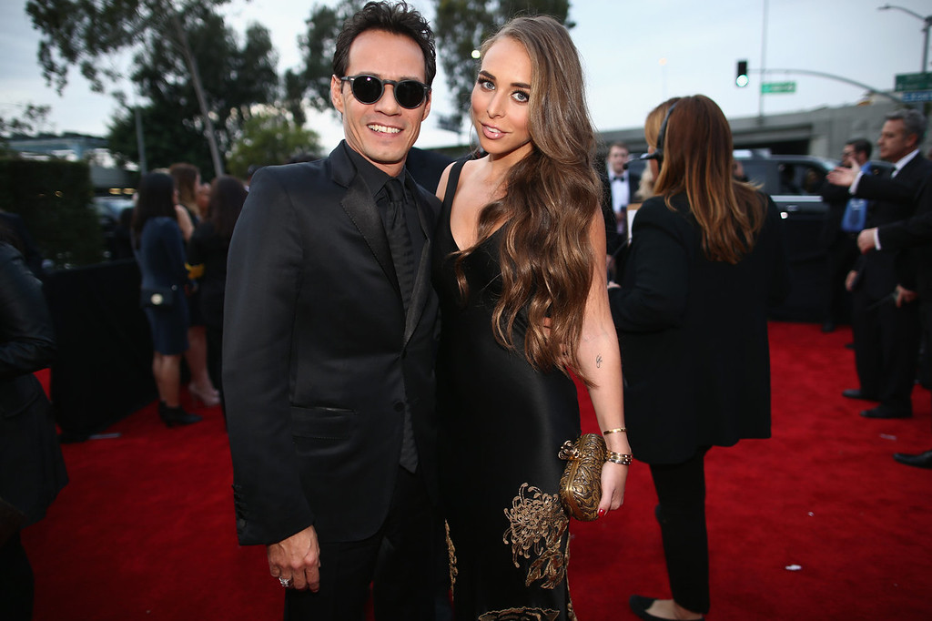 Description of . Musician Marc Anthony and TV personality Chloe Green attend the 56th GRAMMY Awards at Staples Center on January 26, 2014 in Los Angeles, California.  (Photo by Christopher Polk/Getty Images for NARAS)