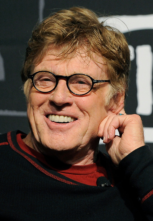 Description of . Robert Redford, founder and president of the Sundance Institute, smiles during the opening news conference of the 2013 Sundance Film Festival, Thursday, Jan. 17, 2013, in Park City, Utah. (Photo by Chris Pizzello/Invision/AP)