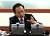 South Korean President Lee Myung-bak, speaks during an emergency meeting of the National Security Council at the presidential house in Seoul, South Korea, Wednesday, Dec. 12, 2012. North Korea fired a long-range rocket Wednesday in its second launch under its new leader, South Korean officials said, defying warnings from the U.N. and Washington only days before South Korean presidential elections.(AP Photo/Yonhap)