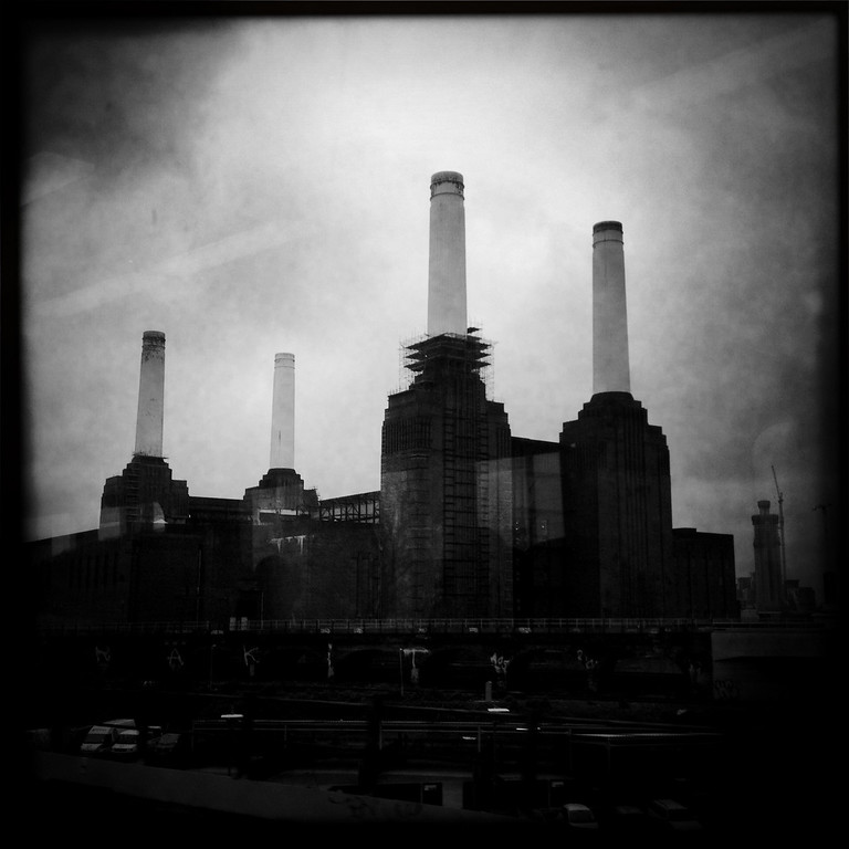 Description of . A general view of Battersea Power Station on May 3, 2012 in London, England. Shot in April 2012 ahead of the London 2012 Olympics.  (Photo by Vittorio Zunino Celotto/Getty Images)