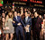 Actors Sarah Wright, Miles Teller, Skylar Astin and Justin Chon pose at the premiere of Relativity Media's