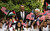 U.S. President Barack Obama (C) poses with Palestinian kids during a visit to the Church of the Nativity with Palestinian President Mahmoud Abbas (R) on March 22, 2013 in Bethlehem, West Bank. (Photo by Atef Safadi-Pool/Getty images)