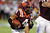 Running back J.C. Coleman #4 of the Virginia Tech Hokies runs the ball against the Rutgers Scarlet Knights during the Russell Athletic Bowl Game at the Florida Citrus Bowl on December 28, 2012 in Orlando, Florida.  (Photo by J. Meric/Getty Images)