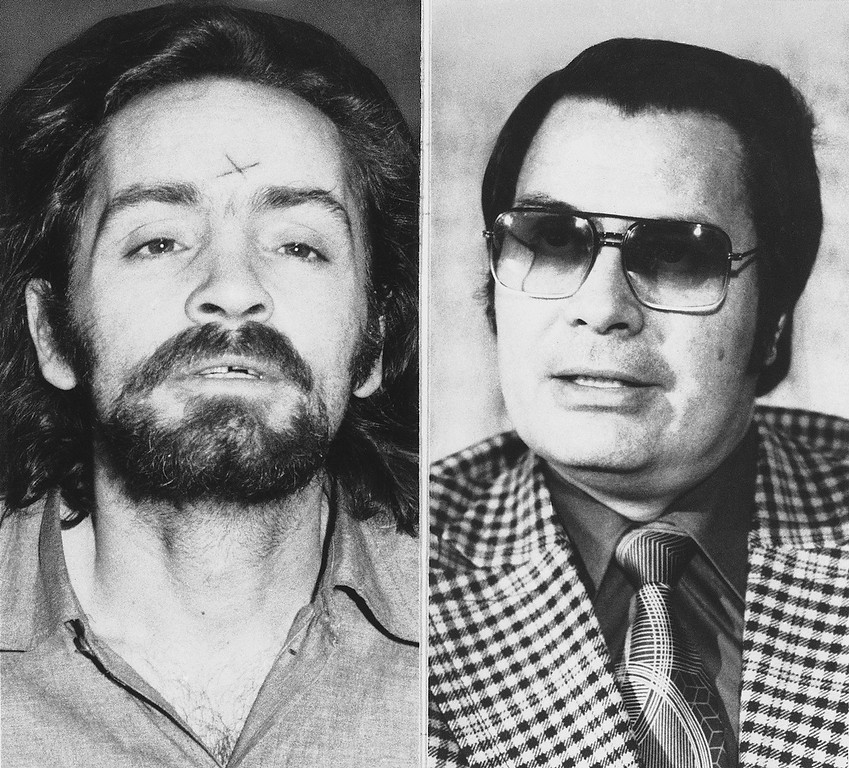 Description of . Murder and mass suicide in Guyana, final acts in a religious sect's weird fantasy of salvation, added the latest bizarre chapter to California's history of cult-inspired horror. Charles Manson, left, and Rev. Jim Jones both had avid followers who would carry out violent orders if instructed to. Manson justified his actions claiming he was the messiah and that he would spark a race war that he would ultimately be the main beneficiary of. He used this theory he called