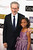 Director Steven Spielberg and actress Quvenzhané Wallis  arrive at the 18th Annual Critics' Choice Movie Awards at Barker Hangar on January 10, 2013 in Santa Monica, California.  (Photo by Frazer Harrison/Getty Images)
