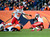 Kansas City Chiefs cornerback Brandon Flowers (24) recovers a fumble by Denver Broncos running back Ronnie Hillman (21) in the second quarter as the Denver Broncos took on the Kansas City Chiefs at Sports Authority Field at Mile High in Denver, Colorado on December 30, 2012. AAron Ontiveroz, The Denver Post