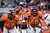 Denver Broncos quarterback Peyton Manning (18) drops back to throw during the third quarter. The Denver Broncos vs Kansas City Chiefs at Sports Authority Field Sunday December 30, 2012. Joe Amon, The Denver Post