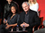 Actors Meagan Good (L) and Victor Garber speak onstage at the
