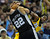 Denver forward Kenneth Faried (35) tied up Spurts forward Tiago Splitter (22) in the second half. The Denver Nuggets defeated the San Antonio Spurs 112-106 at the Pepsi Center Tuesday night, December 18, 2012. Karl Gehring/The Denver Post