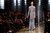 A model presents a creation by Lebanese designer Elie Saab as part of his Haute Couture Spring-Summer 2013 fashion show in Paris January 23, 2013.       REUTERS/Gonzalo Fuentes