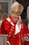 Pope Benedict XVI has announced that he is to resign on February 28, 2013 LONDON - SEPTEMBER 18:  Pope Benedict XVI attends a Mass at Westminster Cathedral during the third day of his State Visit on September 18, 2010 in London, England. During the four day visit Pope Benedict will celebrate mass, conduct a prayer vigil as well as beatify Cardinal Newman at an open air mass in Cofton Park. His Holiness will meet The Queen as well as political and religious representatives.  (Photo by Andrew Winning - WPA Pool/Getty Images)