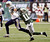 San Diego Chargers strong safety Corey Lynch (41) stiff-arms New York Jets wide receiver Jeremy Kerley (11) during the second half of an NFL football game on Sunday, Dec. 23, 2012, in East Rutherford, N.J. (AP Photo/Bill Kostroun)