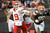 CLEVELAND, OH - DECEMBER 09: Quarterback Brady Quinn #9 of the Kansas City Chiefs looks for a pass under pressure from defensive tackle Phillip Taylor #98 of the Cleveland Browns during the second half at Cleveland Browns Stadium on December 9, 2012 in Cleveland, Ohio. The Browns defeated the Chiefs 30-7. (Photo by Jason Miller/Getty Images)
