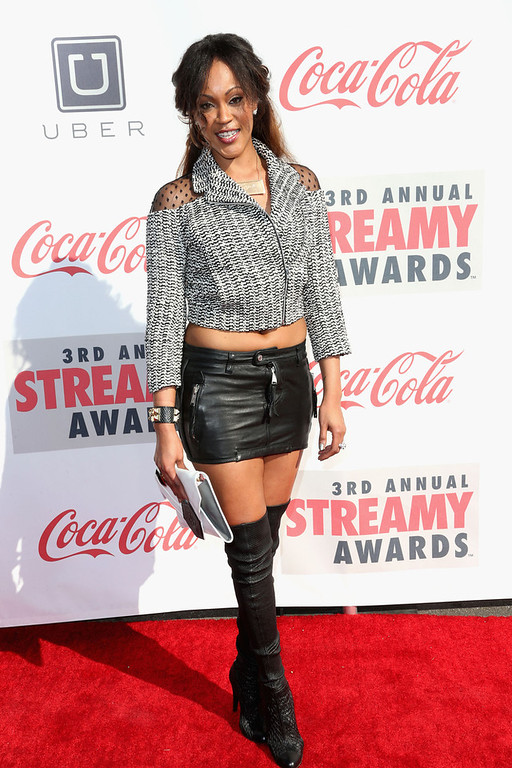 Description of . Shantelle attends the 3rd Annual Streamy Awards at Hollywood Palladium on February 17, 2013 in Hollywood, California.  (Photo by Frederick M. Brown/Getty Images)
