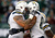 Nick Hardwick #61 celebrates a touchdown with Danario Alexander #84 of the San Diego Chargers against the New York Jets at MetLife Stadium on December 23, 2012 in East Rutherford, New Jersey.   (Photo by Jeff Zelevansky /Getty Images)