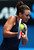Casey Dellacqua of Australia plays a backhand in her doubles final match with Ashleigh Barty of Australia against Sara Errani and Roberta Vinci of Italy during day twelve of the 2013 Australian Open at Melbourne Park on January 25, 2013 in Melbourne, Australia.  (Photo by Mark Kolbe/Getty Images)