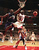 The Chicago Bulls' Michael Jordan (23) goes up and under Utah Jazz forward Karl Malone, left, as he drives to the hoop during the third quarter of  Game 2  in the NBA Finals Wednesday, June 4, 1997, in Chicago.  (AP Photo/Beth A. Keiser)