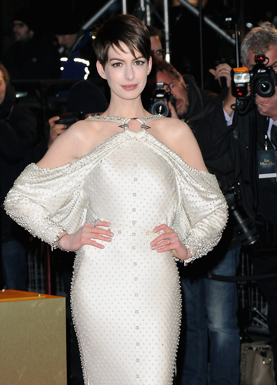 Description of . Actress Anne Hathaway attends the