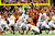 Scott Crichton #95 of the Oregon State Beavers blocks a field goal attempt by Nick Jordan #28 of the University of Texas Longhorns during the Valero Alamo Bowl at the Alamodome on December 29, 2012 in San Antonio, Texas.  (Photo by Stacy Revere/Getty Images)