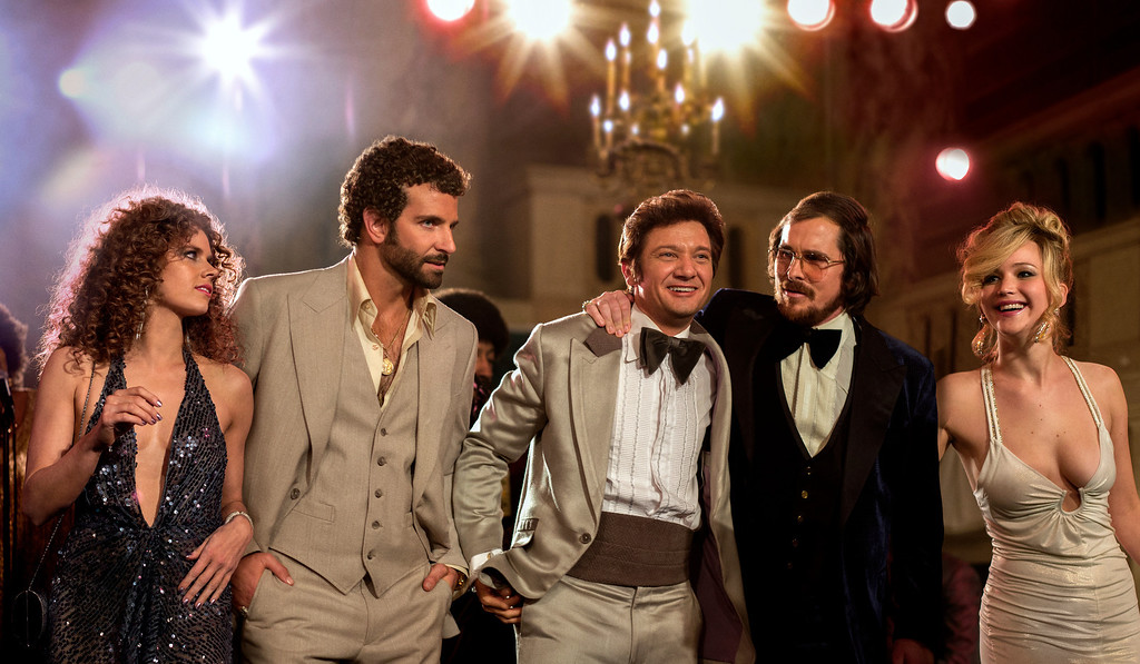 ". 2014 Academy Award Nominee for Best Costume Design: ""American Hustle.\"" (AP Photo/Sony - Columbia Pictures, Francois Duhamel)"