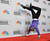Wyclef Jean does a handstand backstage at the 44th Annual NAACP Image Awards at the Shrine Auditorium in Los Angeles on Friday, Feb. 1, 2013. (Photo by Chris Pizzello/Invision/AP)
