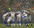 GREEN BAY, WI - DECEMBER 09: Matthew Stafford #9 of the Detroit Lions calls a play in the huddle as it snows during a game against Green Bay Packers at Lambeau Field on December 9, 2012 in Green Bay, Wisconsin.  (Photo by Jonathan Daniel/Getty Images)