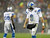 Detroit Lions quarterback Matthew Stafford walks off the field during the first half of an NFL football game against the Green Bay Packers Sunday, Dec. 9, 2012, in Green Bay, Wis. (AP Photo/Jeffrey Phelps)