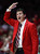 New Mexico coach Steve Alford signals to his players during the first half of their NCAA college basketball game against Wyoming in Albuquerque, N.M., Saturday, March 2, 2013. (AP Photo/ Craig Fritz)