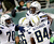 San Diego Chargers tight end Antonio Gates, top, celebrates with teammates Kevin Haslam (70), Jeromey Clary (66) and Danario Alexander (84) after scoring a touchdown against the New York Jets during the second half of an NFL football game on Sunday, Dec. 23, 2012, in East Rutherford, N.J. (AP Photo/Kathy Willens)