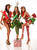 (L-R) Miss Curacao 2012 Monifa Jansen, Miss Guatemala 2012 Laura Godoy and Miss Aruba 2012 Liza Helder pose in the wardrobe area at the Planet Hollywood Resort and Casino in Las Vegas, Nevada December 5, 2012. The Miss Universe 2012 competition will be held on December 19. REUTERS/Valerie Macon/Miss Universe Organization L.P/Handout