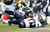 Quarterback Philip Rivers #17 of the San Diego Chargers is sacked by Bart Scott #57 of the New York Jets during the second half at MetLife Stadium on December 23, 2012 in East Rutherford, New Jersey. The Chargers defeated the Jets 27-17. (Photo by Rich Schultz /Getty Images)