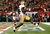 Frank Gore #21 of the San Francisco 49ers scores a 5-yard rushing touchdown in the third quarter against the Atlanta Falcons in the NFC Championship game at the Georgia Dome on January 20, 2013 in Atlanta, Georgia.  (Photo by Kevin C. Cox/Getty Images)