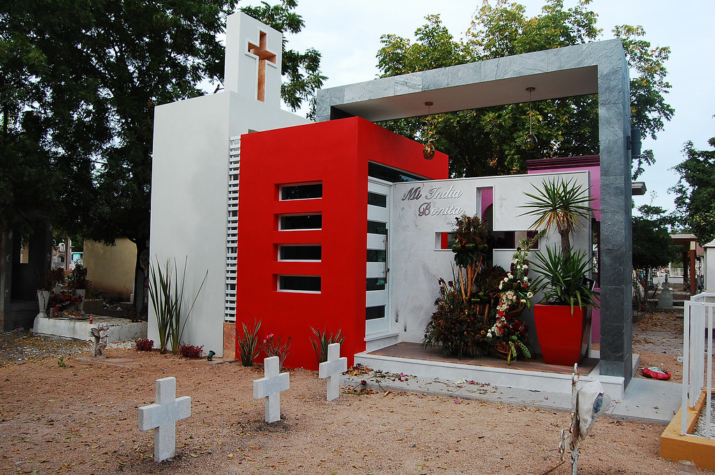 Description of . This Jan. 28, 2013 photo shows the mausoleum where beauty queen Maria Susana Flores Gamez is buried, in a cemetery in Guamuchil, Mexico. Susy was only 4 when her mother signed her up for a pageant she had organized herself. The child won, and was crowned