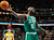 Boston Celtics forward Kevin Garnett reacts after being called for a foul against the Denver Nuggets in the third quarter of the Nuggets' 97-90 victory in an NBA basketball game in Denver on Tuesday, Feb. 19, 2013. (AP Photo/David Zalubowski)