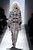 A model walks the runway at the Dennis Basso Fall 2013 fashion show during Mercedes-Benz Fashion Week at The Stage at Lincoln Center on February 12, 2013 in New York City.  (Photo by Frazer Harrison/Getty Images for Mercedes-Benz Fashion Week)