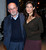 Writer Salman Rushdie (L) attends the Gucci and The Cinema Society screening of