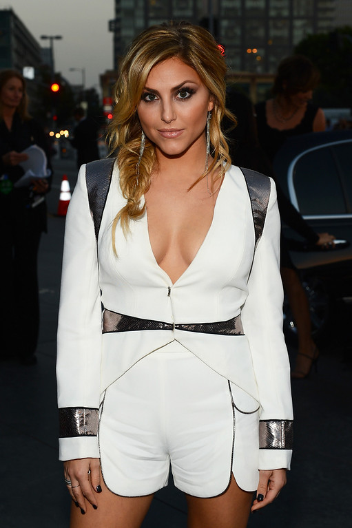 Description of . LOS ANGELES, CA - JANUARY 08:  Actress Cassie Scerbo attends The 40th Annual People's Choice Awards at Nokia Theatre L.A. Live on January 8, 2014 in Los Angeles, California.  (Photo by Mark Davis/Getty Images for The People's Choice Awards)
