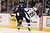 DENVER, CO. - JANUARY 22: Colorado Avalanche left wing Gabriel Landeskog (92) checks Los Angeles Kings defenseman Slava Voynov (26) during the third period. The Colorado Avalanche Los Angeles Kings at Pepsi Center January 22, 2013. 