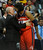 DENVER, CO - JANUARY 18: Washington forward Nene greeted his former coach George Karl at the start of the contest Friday night. The Denver Nuggets hosted the Washington Wizard at the Pepsi Center Friday night, January 18, 2013. Karl Gehring/The Denver Post