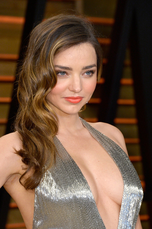 Description of . Model Miranda Kerr attends the 2014 Vanity Fair Oscar Party hosted by Graydon Carter on March 2, 2014 in West Hollywood, California.  (Photo by Pascal Le Segretain/Getty Images)