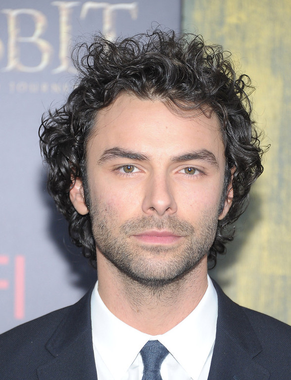 "Description of . NEW YORK, NY - DECEMBER 06:  Aidan Turner attends ""The Hobbit: An Unexpected Journey\"" New York Premiere Benefiting AFI at Ziegfeld Theater on December 6, 2012 in New York City.  (Photo by Michael Loccisano/Getty Images)"