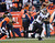 Baltimore Ravens tight end Dennis Pitta (88) catches a pass for 15 yards at the end of the second quarter. The Denver Broncos vs Baltimore Ravens AFC Divisional playoff game at Sports Authority Field Saturday January 12, 2013. (Photo by Joe Amon,/The Denver Post)