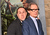 Actors John Kassir (L) and Bill Nighy attends the premiere of New Line Cinema's 